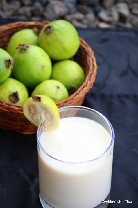 guava milkshake