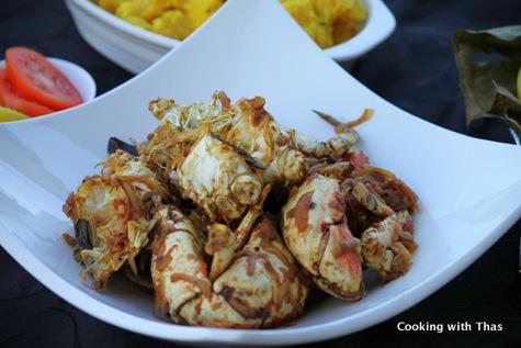 kerala style crab roast