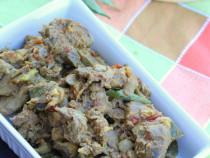 Chicken liver roast
