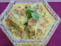 Egg-Omelette-Korma curry
