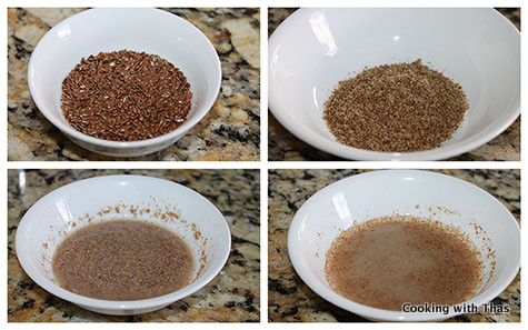 flax seed egg replacer