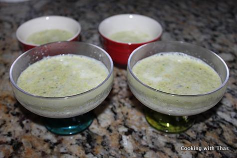 pista saffron pudding