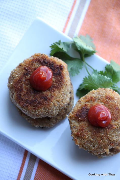 asian style chicken cutlet