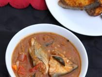 Gun powder fish curry