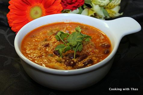 chicken couscous soup