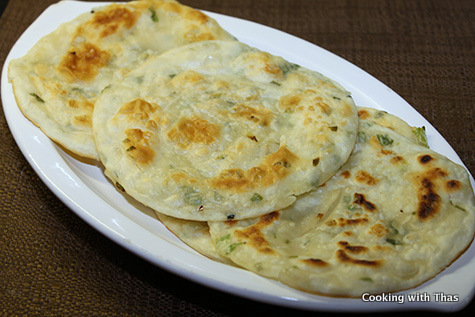green onion-pancakes