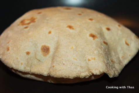 making-chapati