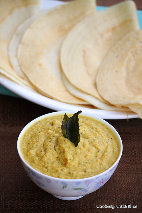 onion-coconut chutney