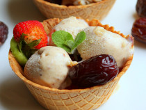 Easy Medjool Dates Ice cream