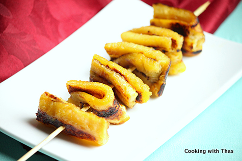 Ghee Roasted Plantain