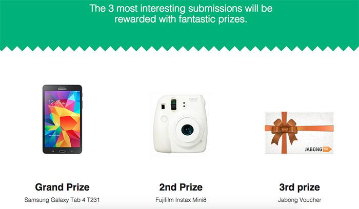 Foodpanda contest prizes
