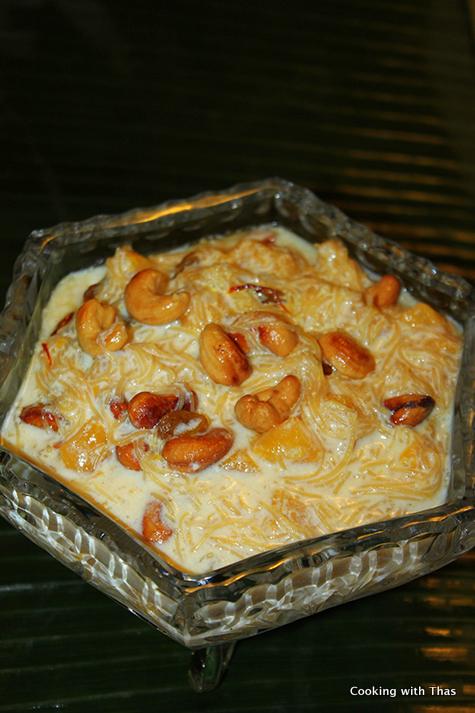 Mango-vermicelli Payasam