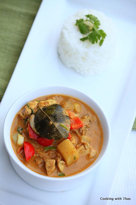 Thai style chicken curry-001