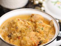 Mughlai chicken and saffron korma