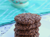 Oatmeal Nutella Cookie