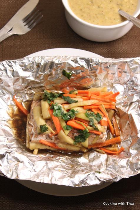 Baked-salmon