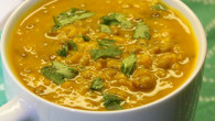 green lentil and squash soup