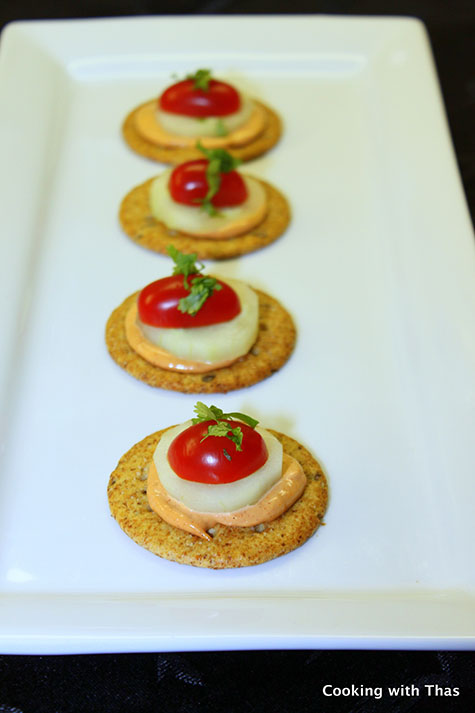 Cracker appetizer