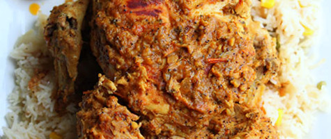 Mughlai Murgh Musallam Or Eggs Stuffed Whole Chicken Cooking With Thas Healthy Recipes