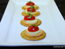 super easy cracker appetizer