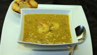 Chicken-Mung bean soup