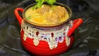 Meatball-Barley Soup