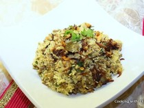 ground beef-biryani
