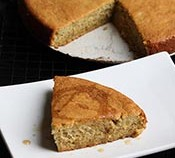 Maple Plantain-cake