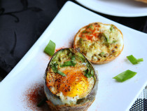 Baked- Avocado egg