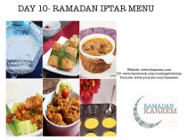 Day 10 Ramadan Iftar Menu