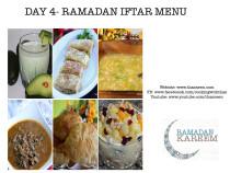 Day 4 Ramadan Iftar Menu