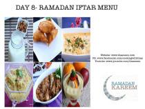 Day 8 Ramadan Iftar Menu