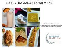 Day17 Ramadan Iftar Menu