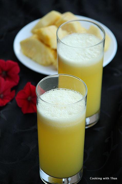 Pineapple- Coconut water Juice