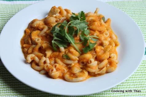chicken-paste-in-carrot-sauce