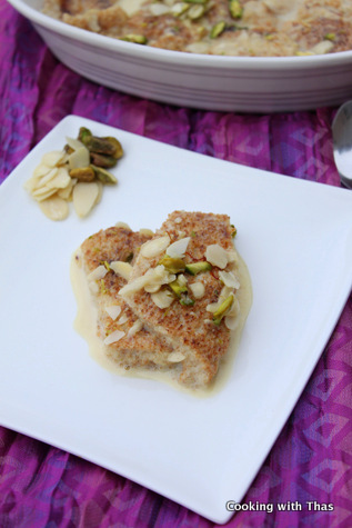 sweet-bread pudding