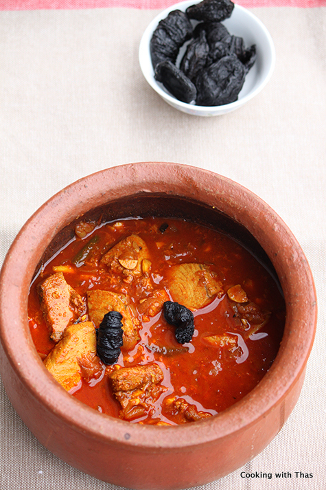 Fish Curry With Kodampuli Or Gambodge Cooking With Thas