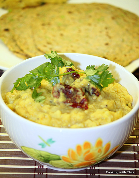 Cauliflower Dal