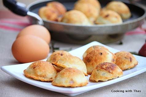 Rice and Egg Snack- Mutta Surka