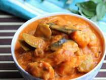 Shrimp Mango Curry