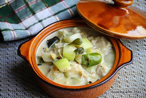 Bottle Gourd or Lauki Stew