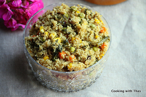 1 minute quinoa made in instant pot