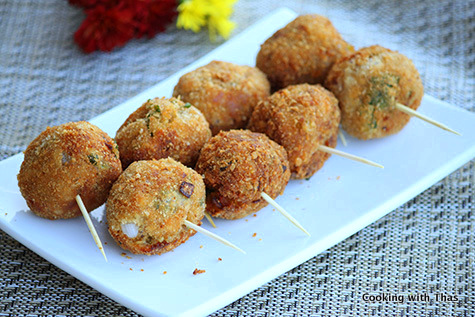 Fried-Tuna balls