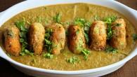 Veggie cutlet in Gravy