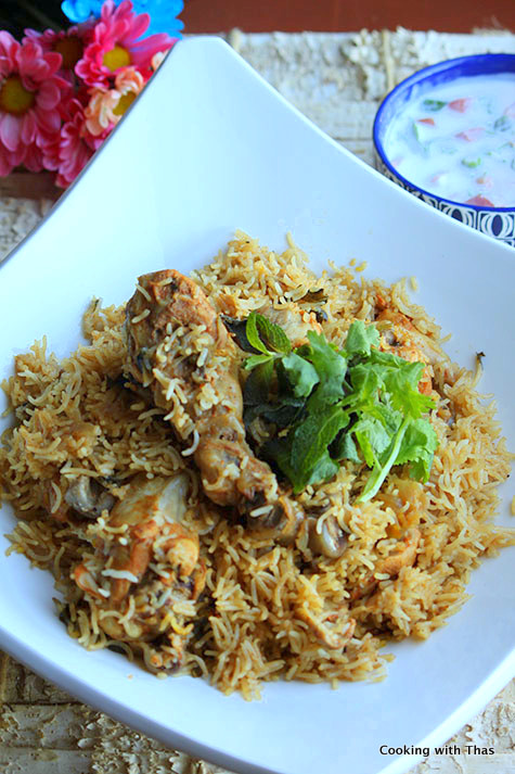Express Biryani Instant Pot Chicken Biryani Cooking With Thas Healthy Recipes Instant Pot