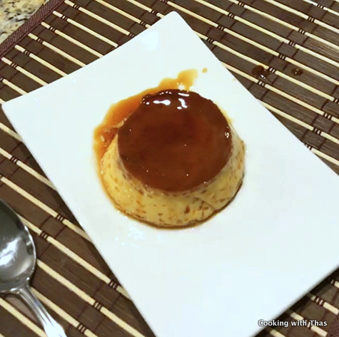 Instant pot flan recipe easy instant pot dessert cooking with thas forumfinder Gallery