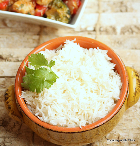 Instant Pot Basmati Rice Cooking With Thas