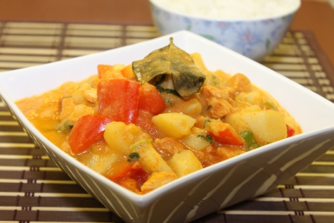 Instant Pot-Thai Red Curry Chicken - Cooking with Thas
