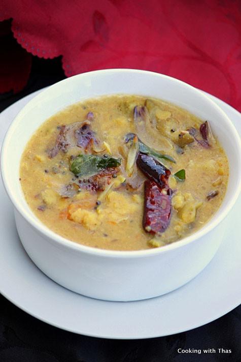easy sambar recipe