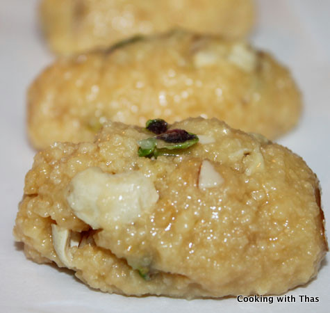 palgova with nuts